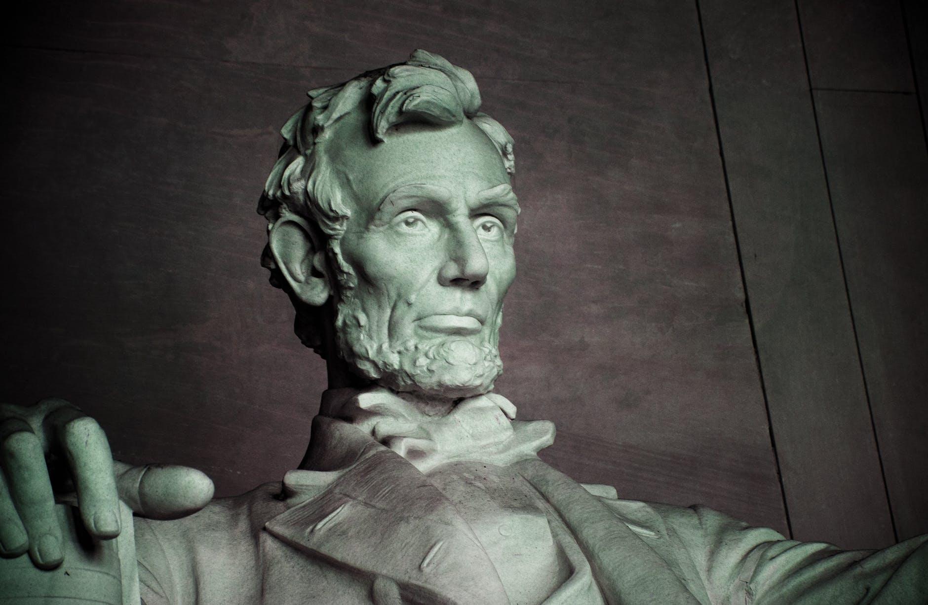 architecture usa statue face
