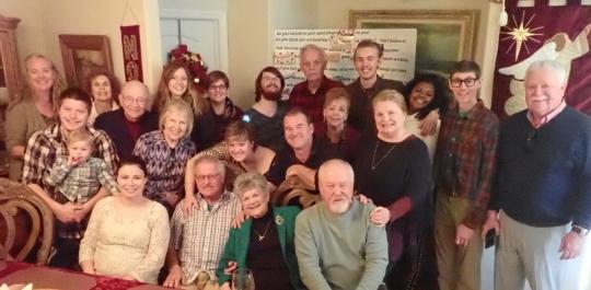 Family @ Bob's 80th