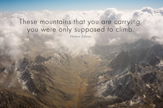 Mountains to climb