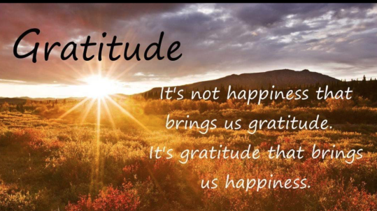 gratitude=happiness