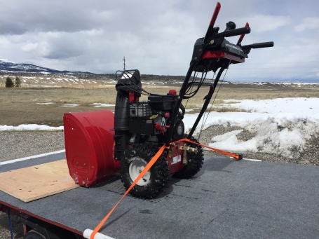 Steve's snowblower