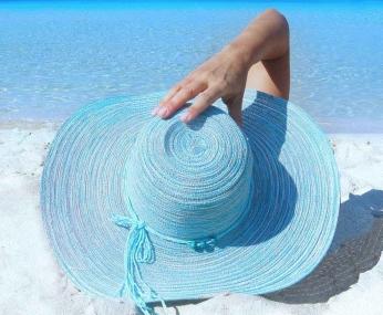 sea fashion beach sand