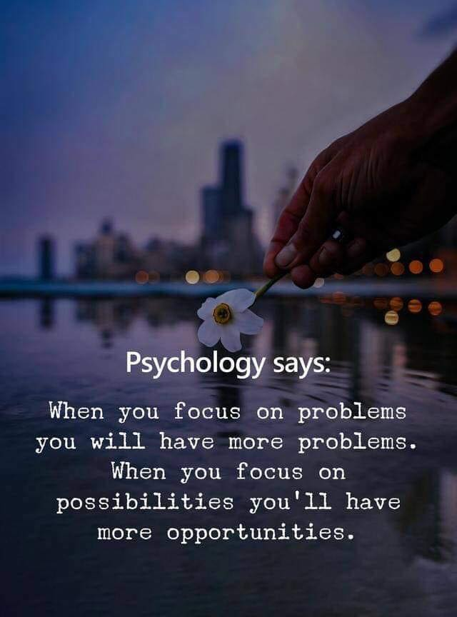 problems - possibilities