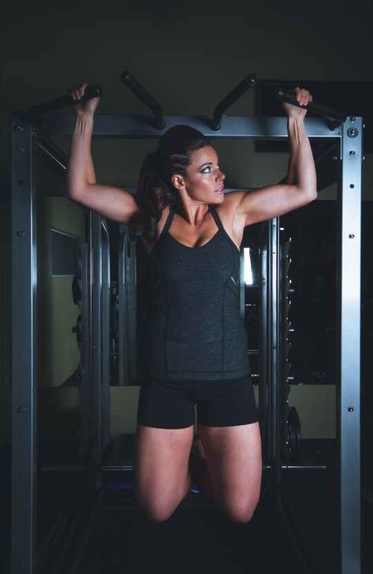 woman girl strength fitness