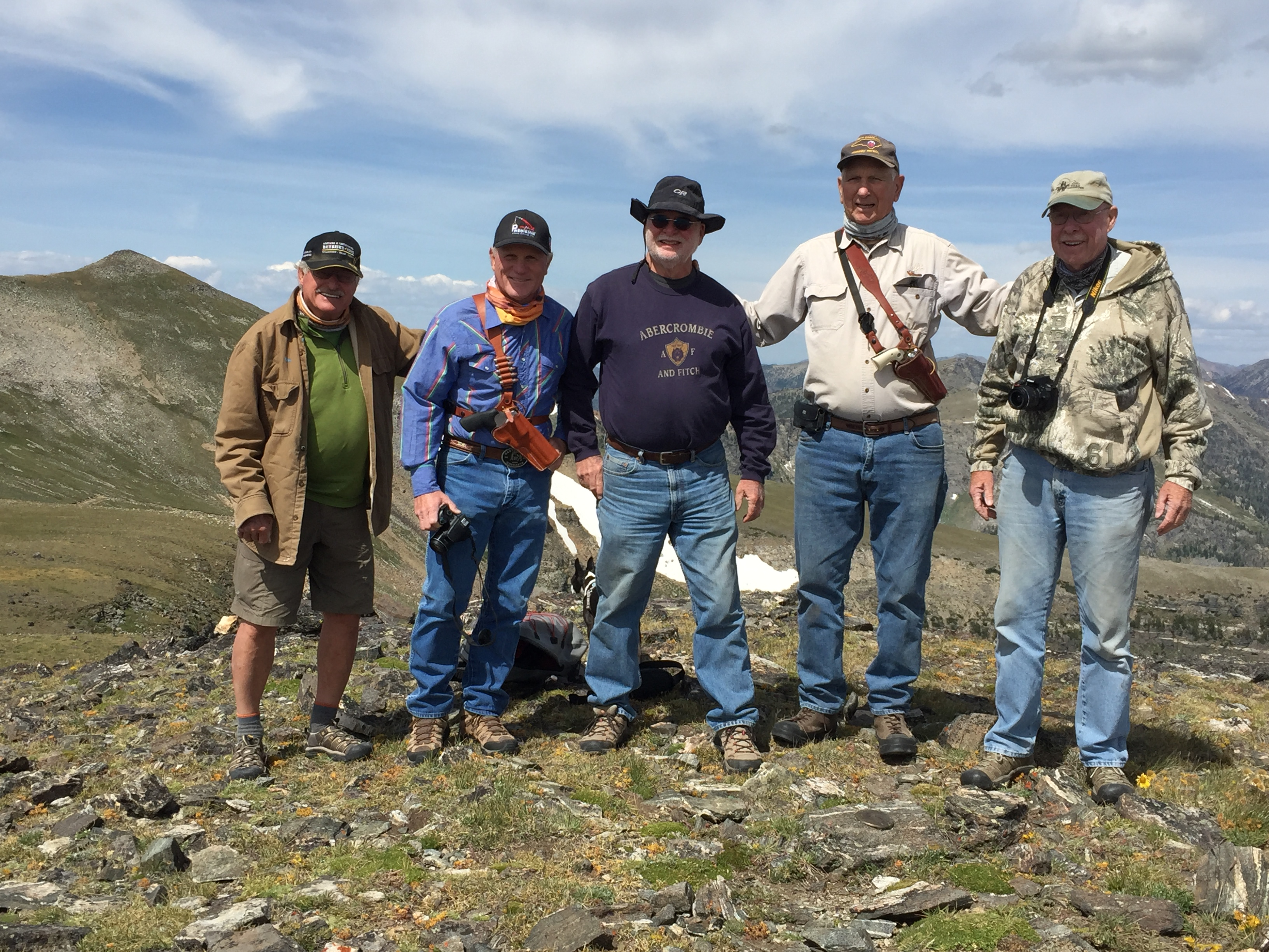 5 guys - Mt. Baldy