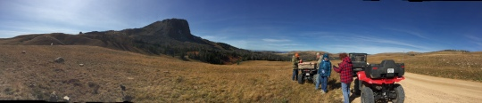 Black Butte panorama