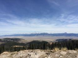 overlook - toward Madison Range