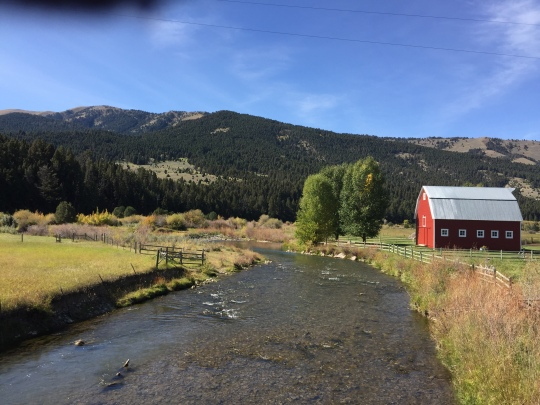 Red barn - Ruby River