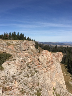 Rocky outcropping- overlook