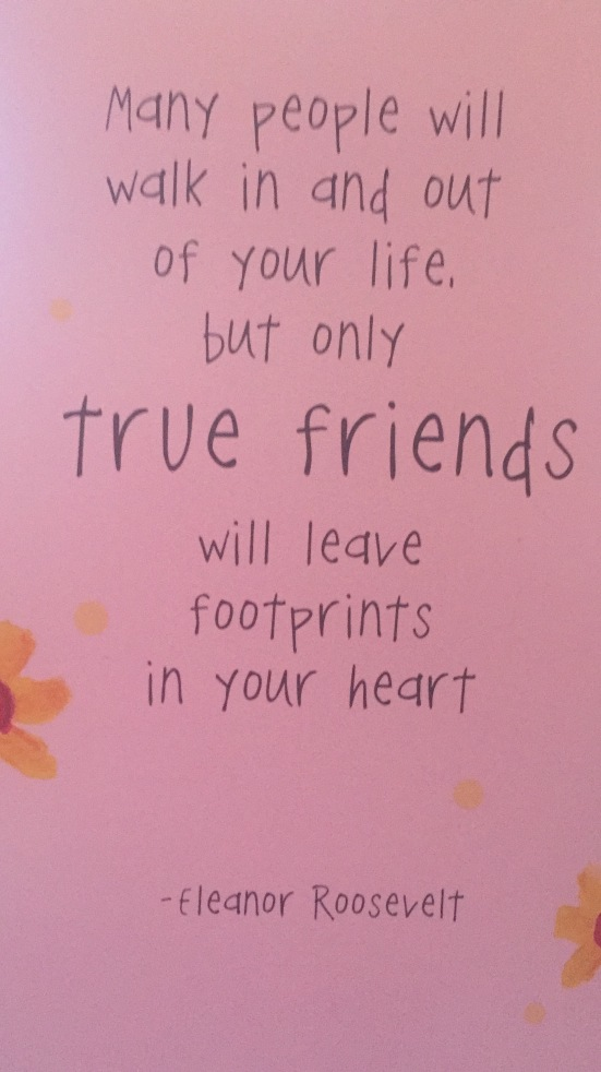 True Friends - footptints