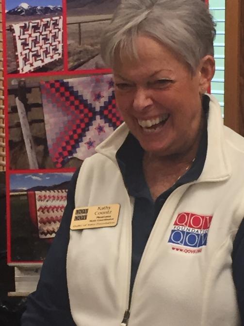 Happy Kathy Coontz