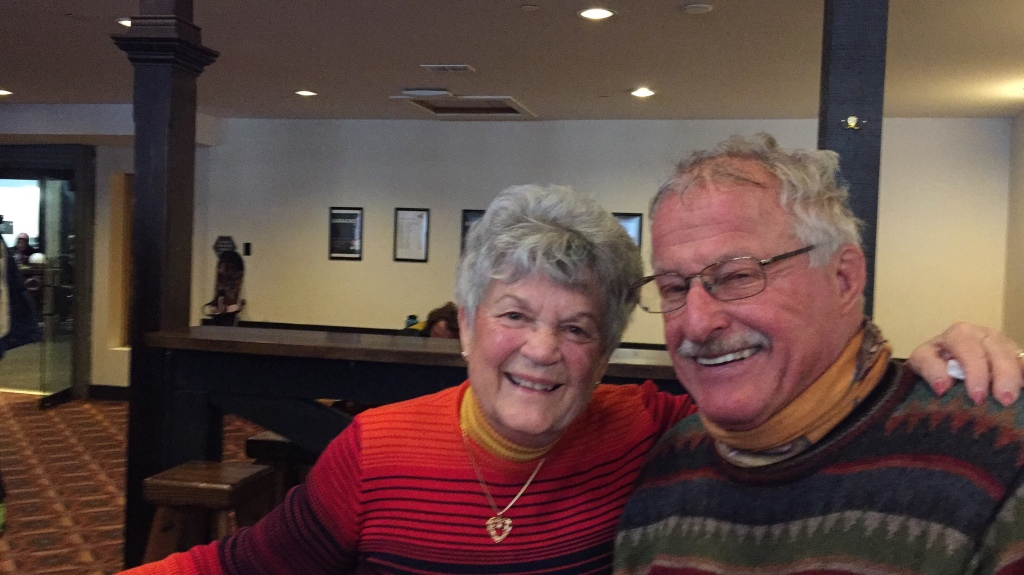 While Bob & Nancy enjoyed the slopes at Big Sky, I enjoyed staying inside and making new friends. Can you relate?
