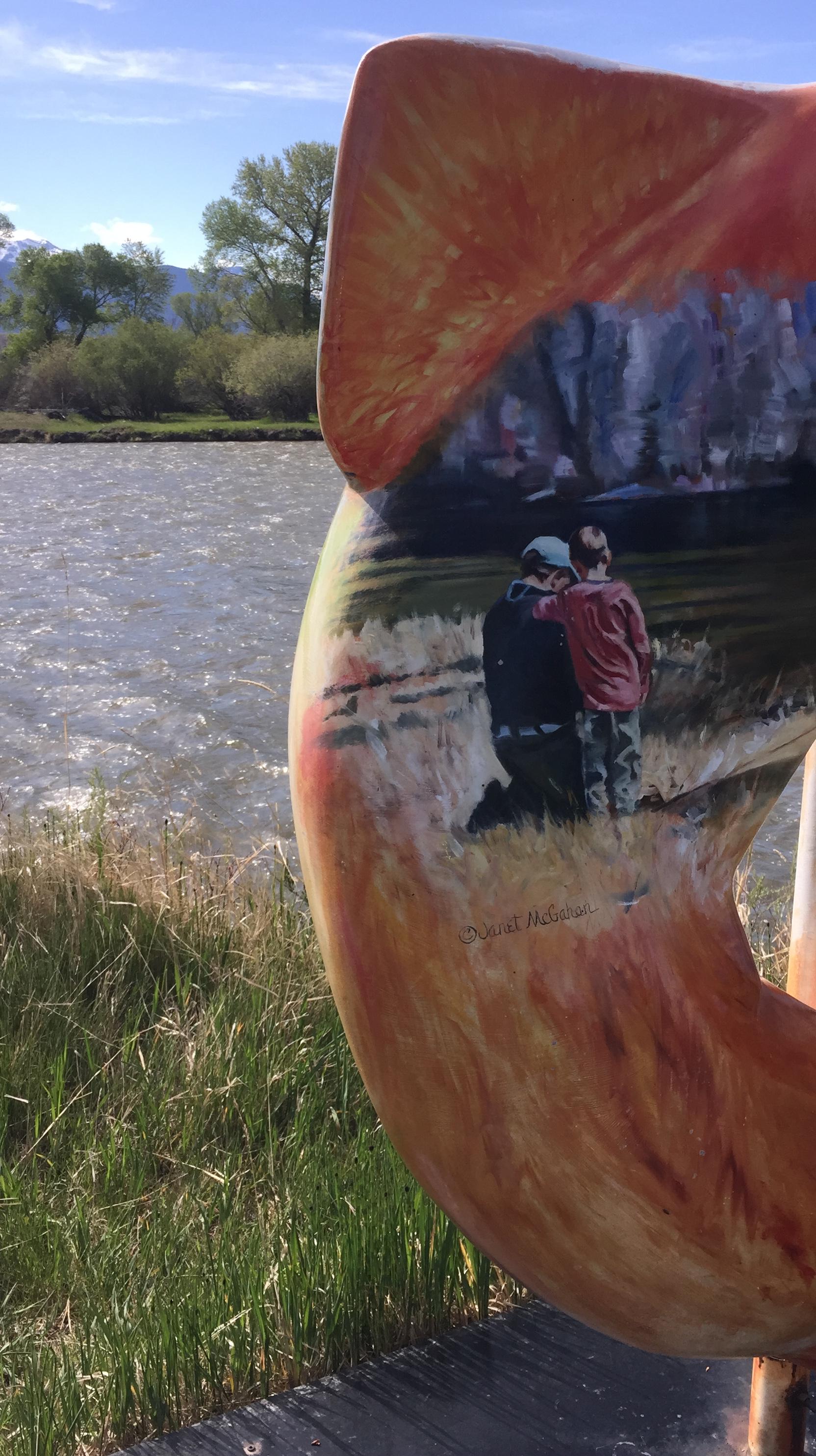 fish on Madison - painting